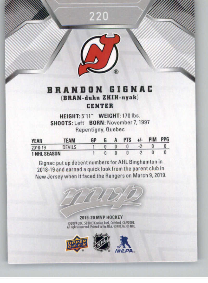 miniature 299 - 2019-20-Upper-Deck-MVP-Silver-Script-NHL-Hockey-Trading-Cards-Pick-From-List