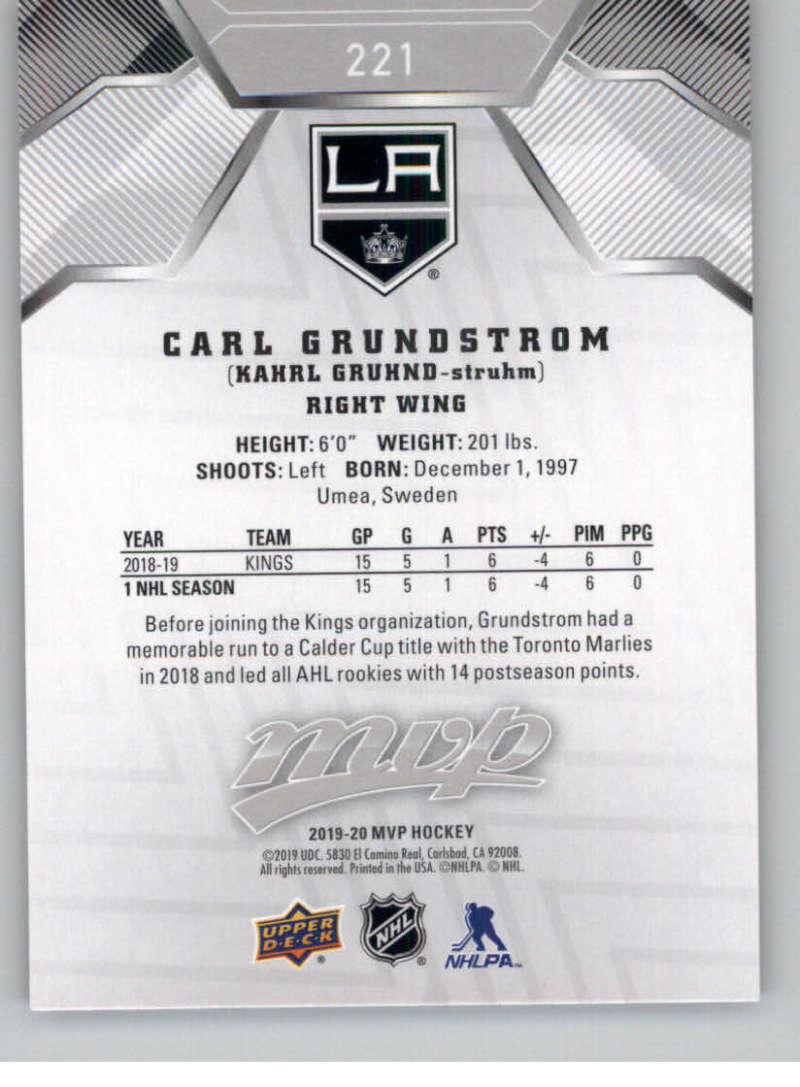 miniature 301 - 2019-20-Upper-Deck-MVP-Silver-Script-NHL-Hockey-Trading-Cards-Pick-From-List