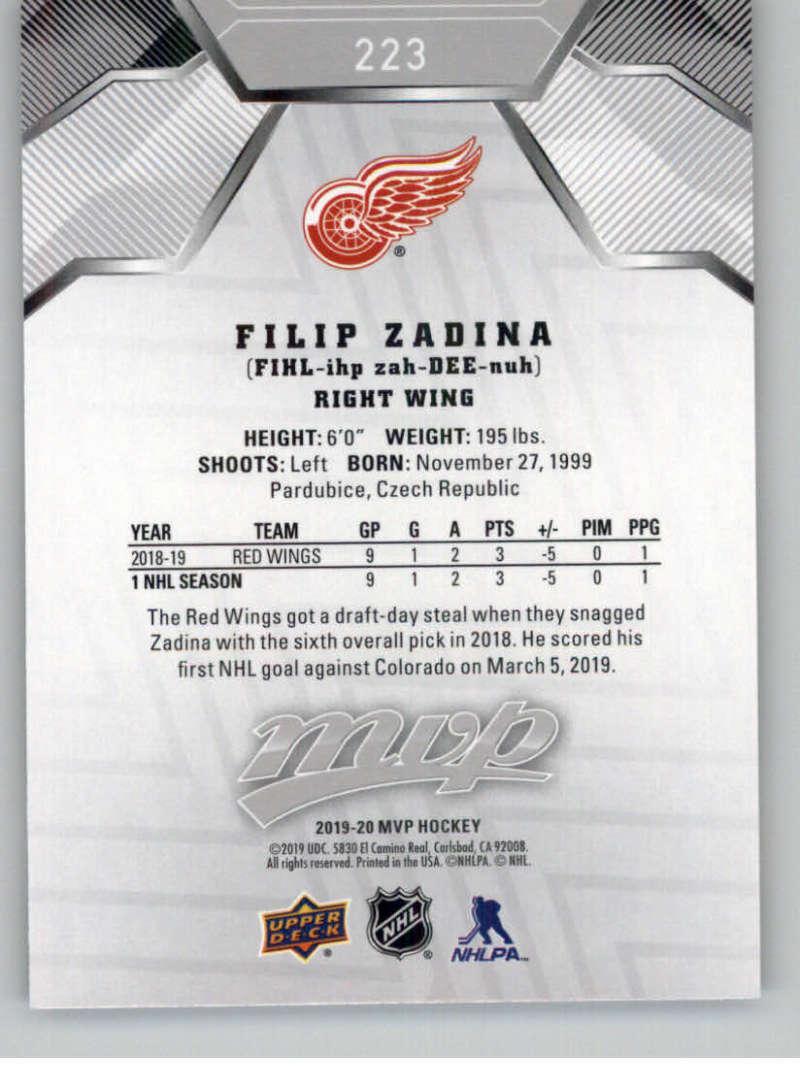 miniature 303 - 2019-20-Upper-Deck-MVP-Silver-Script-NHL-Hockey-Trading-Cards-Pick-From-List