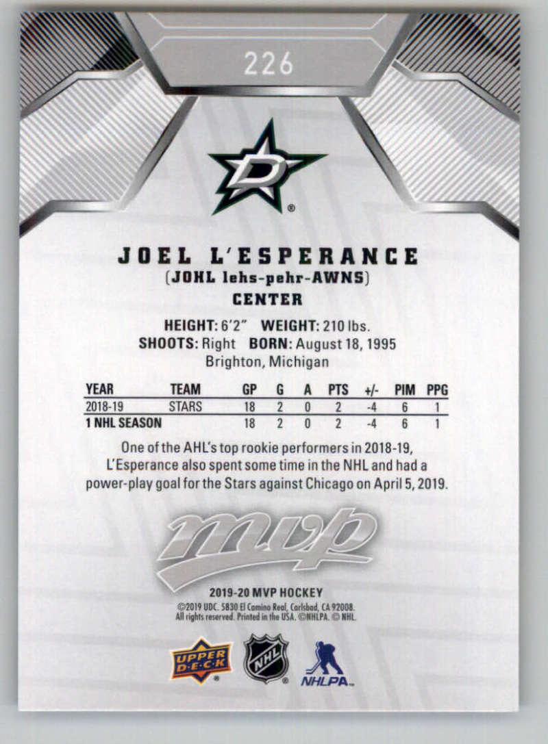 miniature 307 - 2019-20-Upper-Deck-MVP-Silver-Script-NHL-Hockey-Trading-Cards-Pick-From-List