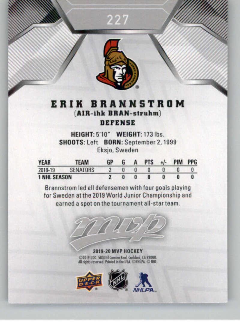 miniature 309 - 2019-20-Upper-Deck-MVP-Silver-Script-NHL-Hockey-Trading-Cards-Pick-From-List