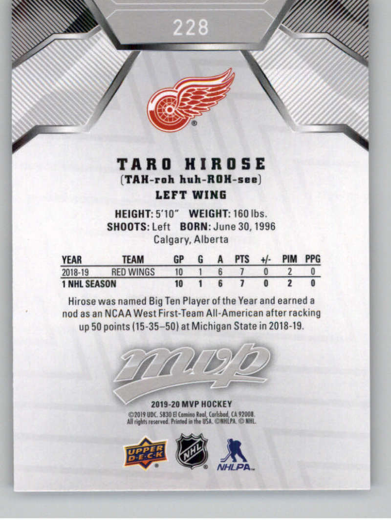 miniature 311 - 2019-20-Upper-Deck-MVP-Silver-Script-NHL-Hockey-Trading-Cards-Pick-From-List