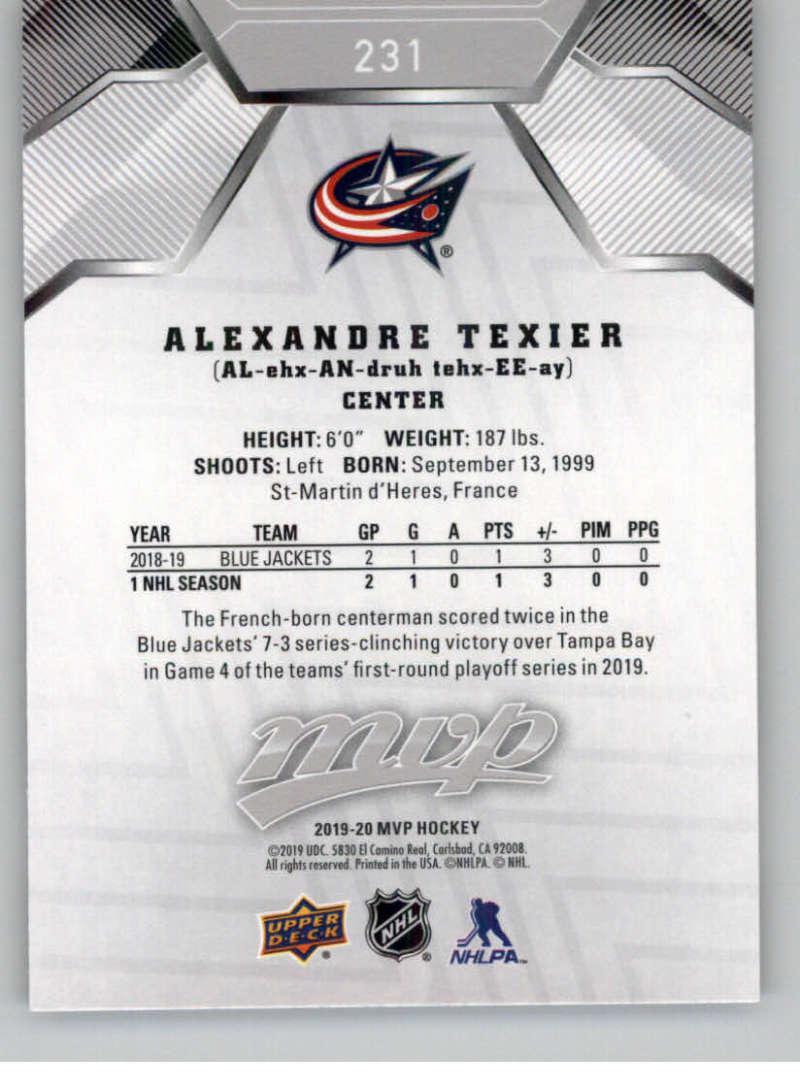 miniature 315 - 2019-20-Upper-Deck-MVP-Silver-Script-NHL-Hockey-Trading-Cards-Pick-From-List