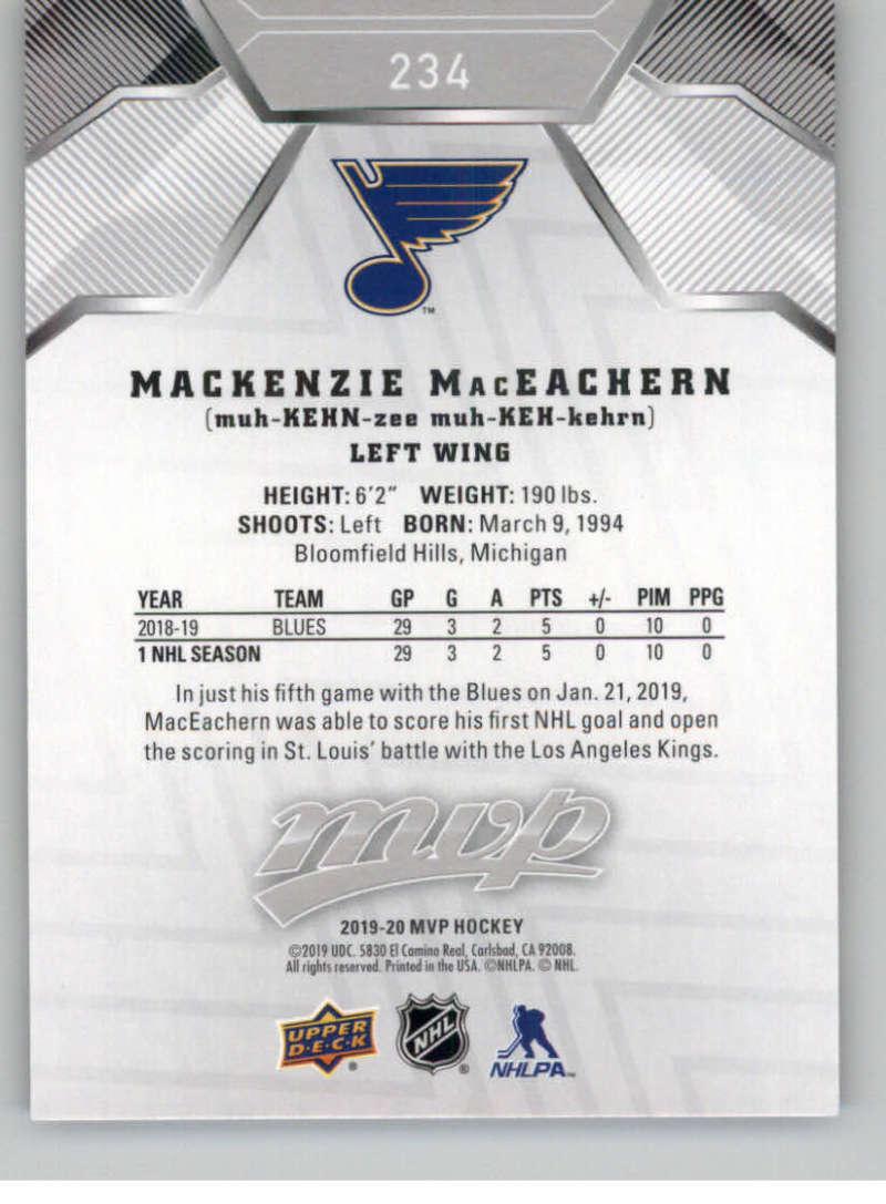 miniature 317 - 2019-20-Upper-Deck-MVP-Silver-Script-NHL-Hockey-Trading-Cards-Pick-From-List