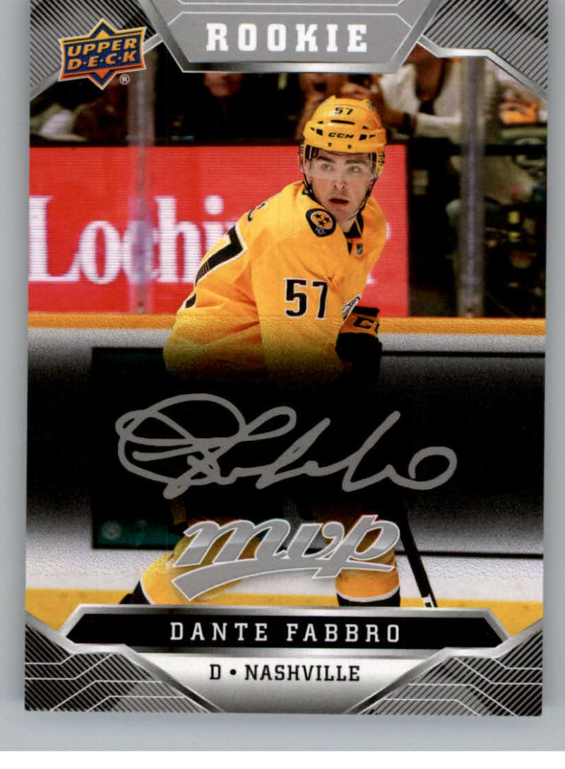 miniature 320 - 2019-20-Upper-Deck-MVP-Silver-Script-NHL-Hockey-Trading-Cards-Pick-From-List