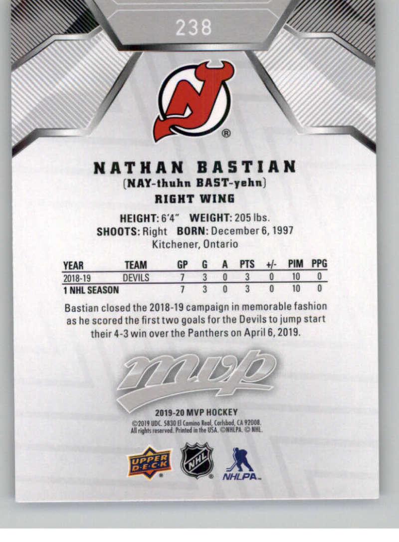miniature 323 - 2019-20-Upper-Deck-MVP-Silver-Script-NHL-Hockey-Trading-Cards-Pick-From-List