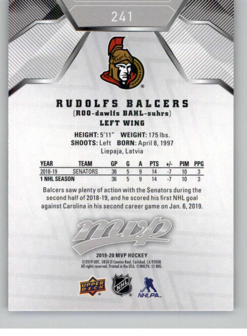 miniature 327 - 2019-20-Upper-Deck-MVP-Silver-Script-NHL-Hockey-Trading-Cards-Pick-From-List