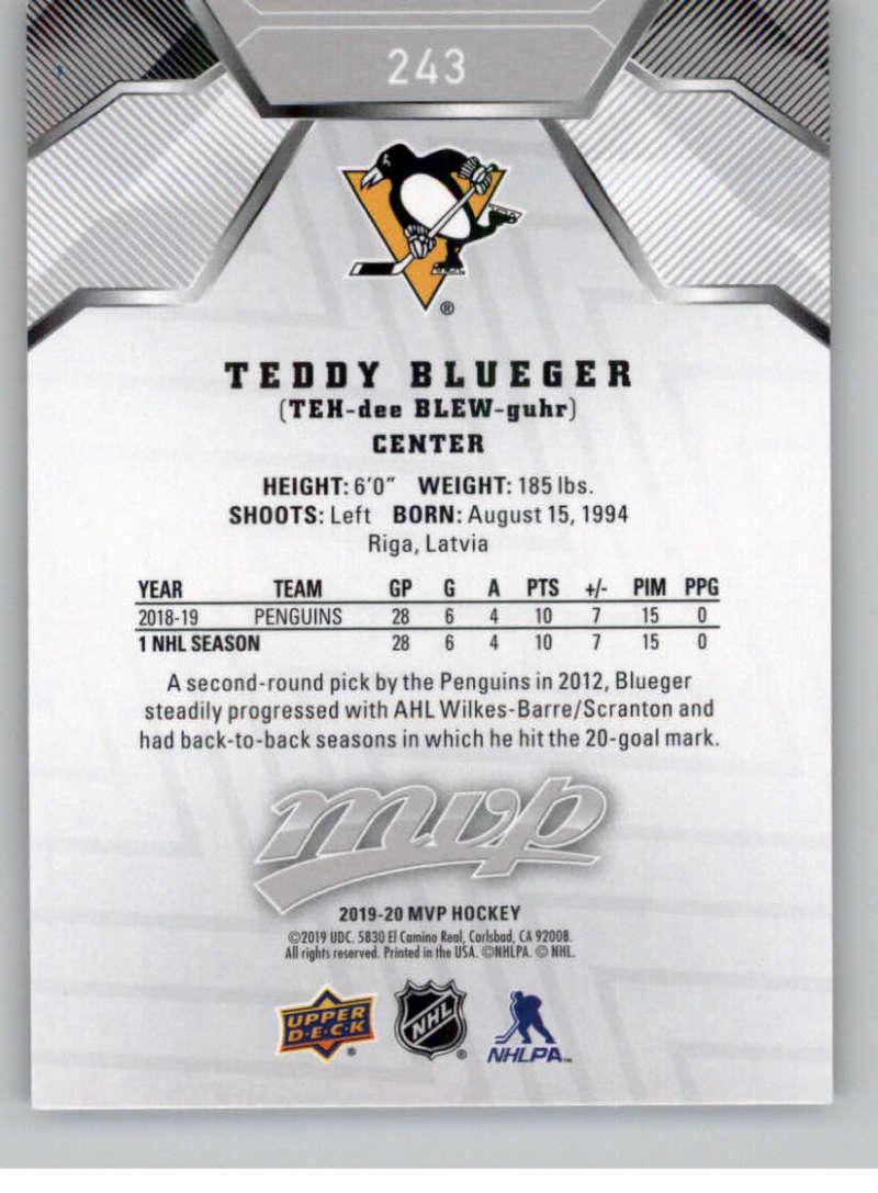 miniature 331 - 2019-20-Upper-Deck-MVP-Silver-Script-NHL-Hockey-Trading-Cards-Pick-From-List