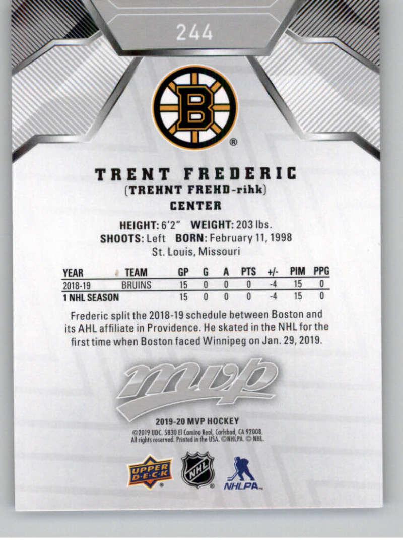 miniature 333 - 2019-20-Upper-Deck-MVP-Silver-Script-NHL-Hockey-Trading-Cards-Pick-From-List