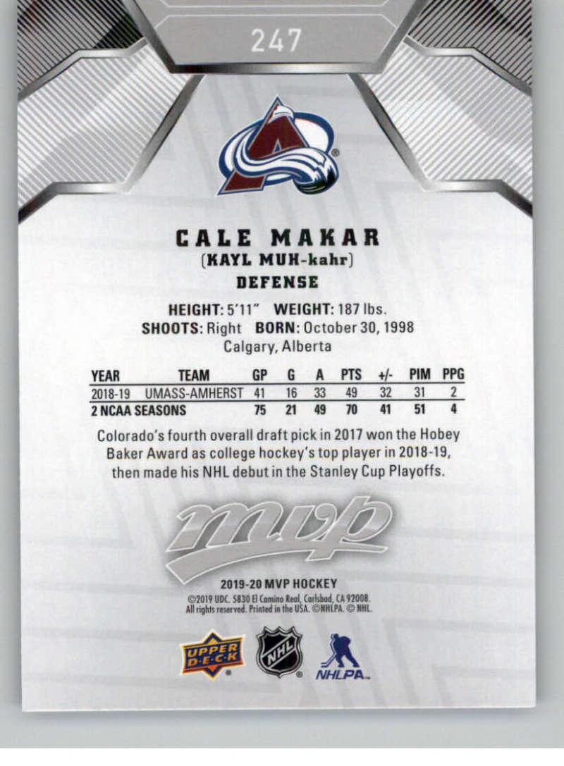miniature 335 - 2019-20-Upper-Deck-MVP-Silver-Script-NHL-Hockey-Trading-Cards-Pick-From-List