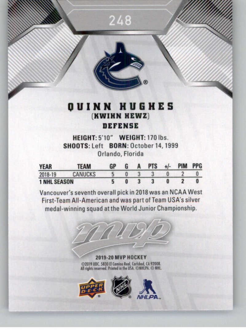 miniature 337 - 2019-20-Upper-Deck-MVP-Silver-Script-NHL-Hockey-Trading-Cards-Pick-From-List