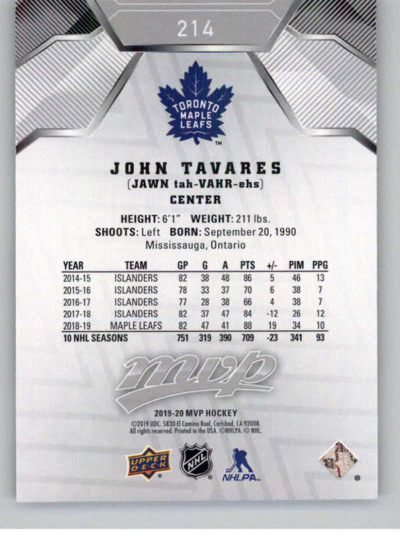 2019-20-Upper-Deck-MVP-Super-Script-Hockey-Parallel-Cards-Pick-From-List-25 thumbnail 21