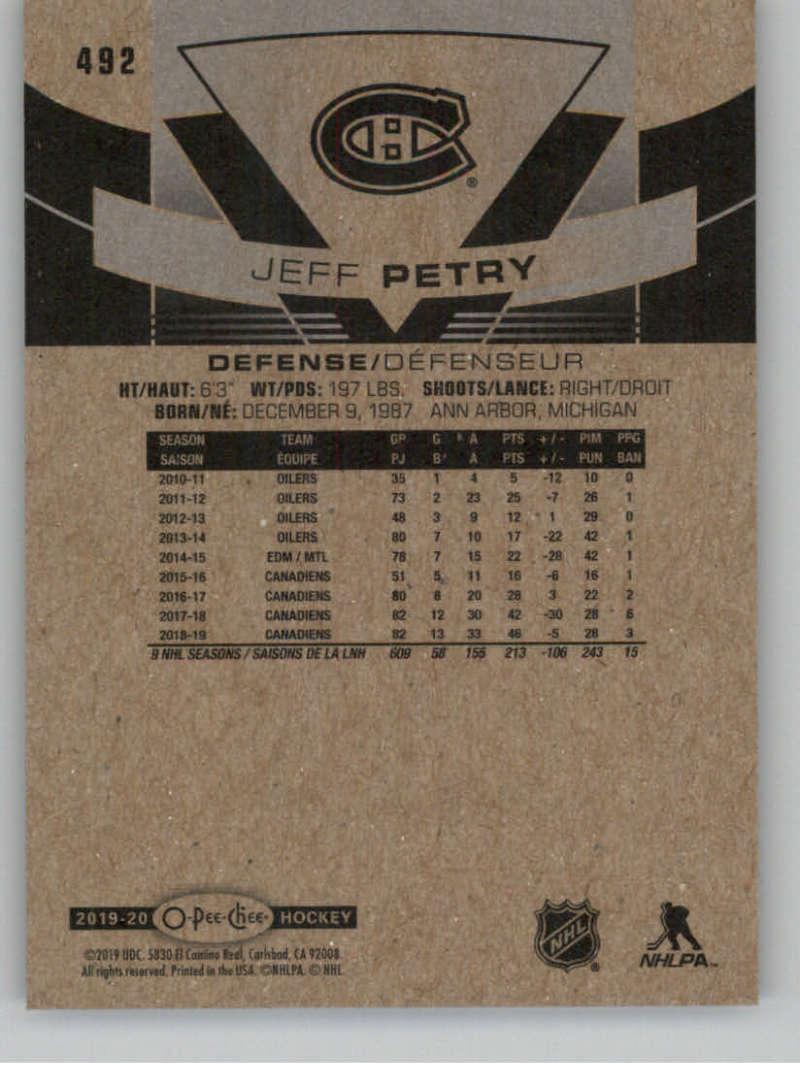 2019-20-O-Pee-Chee-19-20-OPC-Glossy-Gold-Border-Hockey-Pick-From-List-401-600 miniature 13