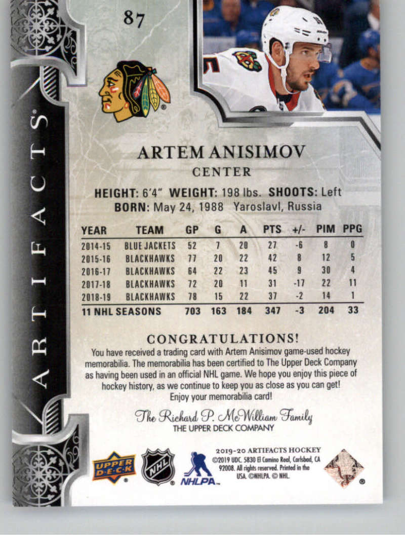 2019-20-Artifacts-PINK-19-20-UD-Upper-Deck-NHL-Hockey-Cards-Pick-From-List miniature 9