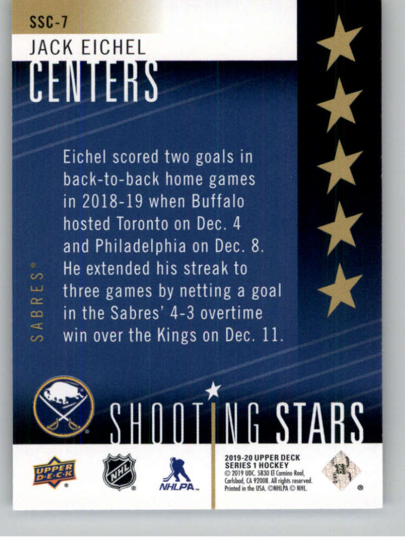 2019-20-Upper-Deck-Series-One-Shooting-Stars-Base-or-Red-NHL-Hockey-Cards-PFL miniature 15