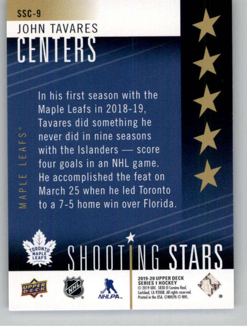 2019-20-Upper-Deck-Series-One-Shooting-Stars-Base-or-Red-NHL-Hockey-Cards-PFL miniature 19