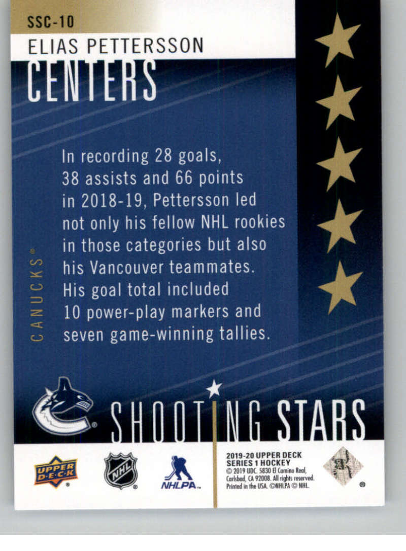 2019-20-Upper-Deck-Series-One-Shooting-Stars-Base-or-Red-NHL-Hockey-Cards-PFL miniature 21