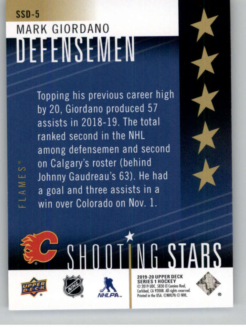 2019-20-Upper-Deck-Series-One-Shooting-Stars-Base-or-Red-NHL-Hockey-Cards-PFL miniature 25