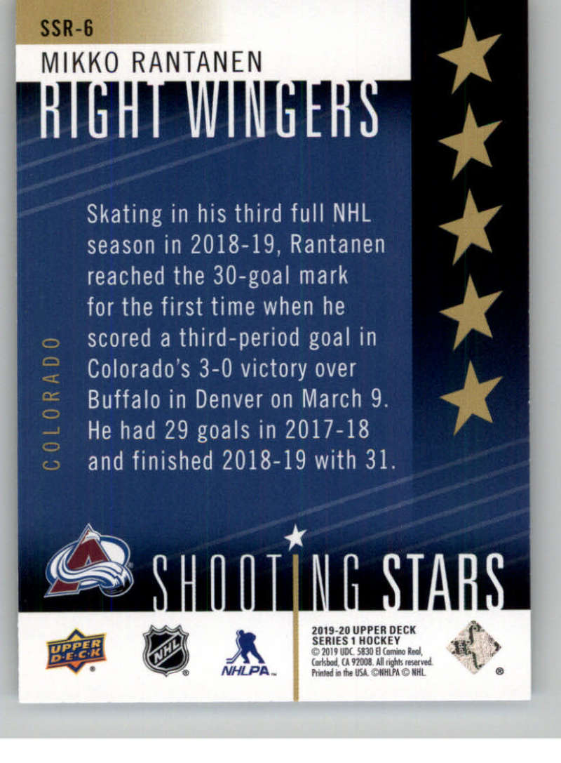 2019-20-Upper-Deck-Series-One-Shooting-Stars-Base-or-Red-NHL-Hockey-Cards-PFL miniature 47