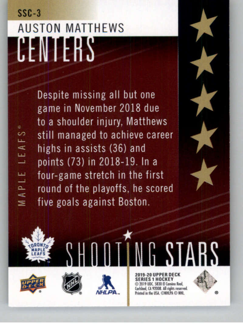 2019-20-Upper-Deck-Series-One-Shooting-Stars-Base-or-Red-NHL-Hockey-Cards-PFL miniature 53