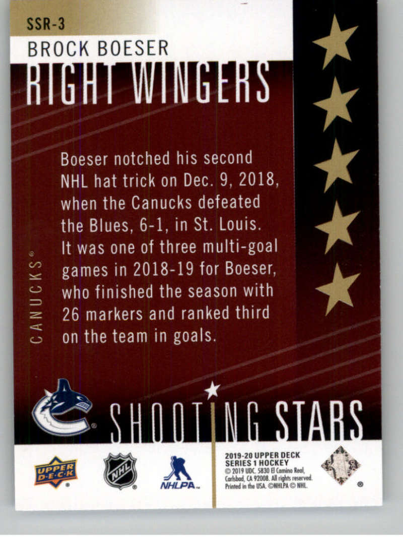 2019-20-Upper-Deck-Series-One-Shooting-Stars-Base-or-Red-NHL-Hockey-Cards-PFL miniature 69