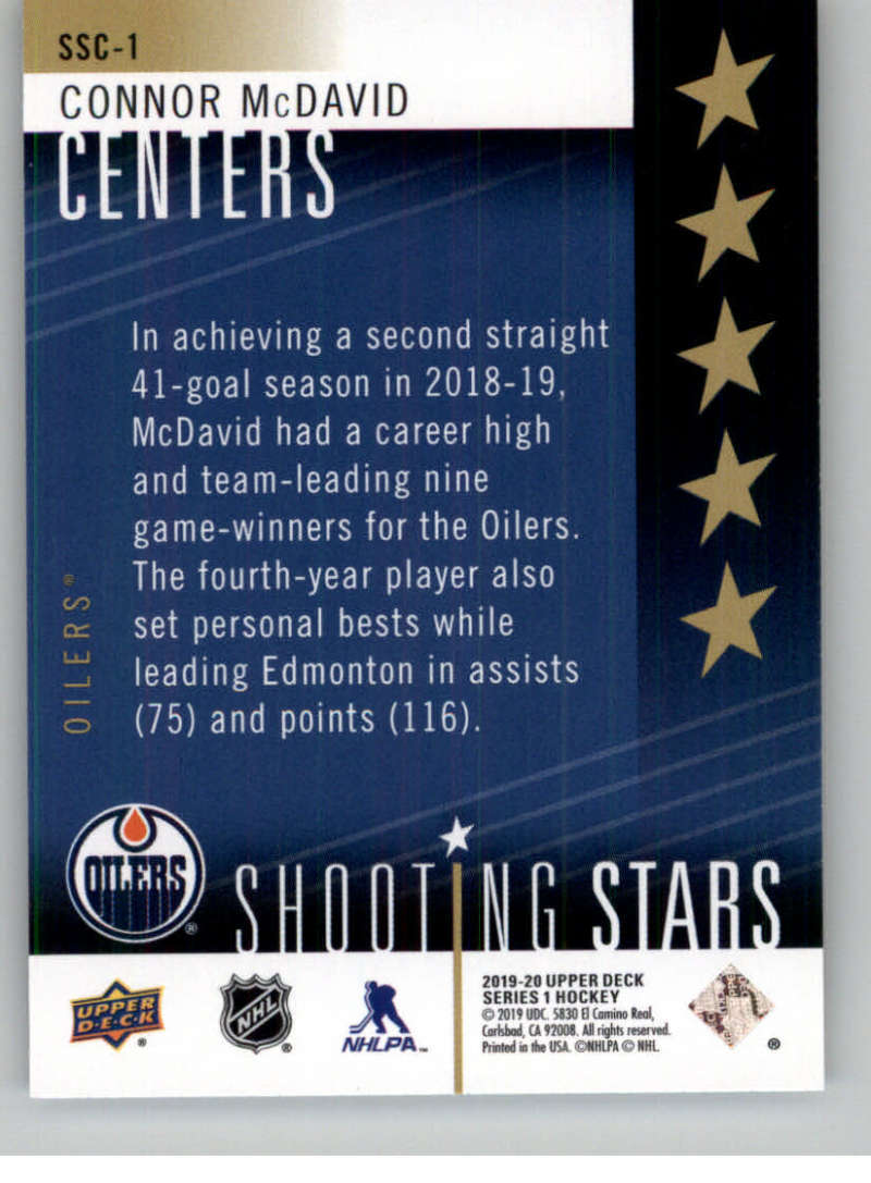 2019-20-Upper-Deck-Series-One-Shooting-Stars-Base-or-Red-NHL-Hockey-Cards-PFL miniature 3