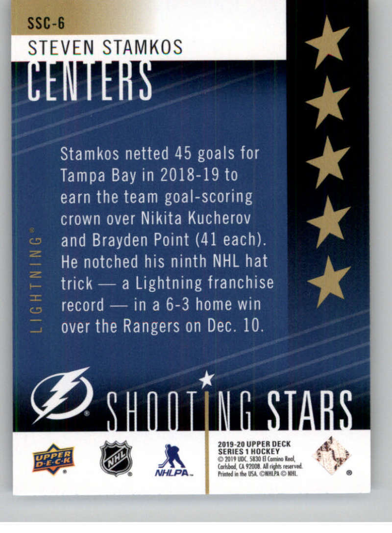 2019-20-Upper-Deck-Series-One-Shooting-Stars-Base-or-Red-NHL-Hockey-Cards-PFL miniature 13