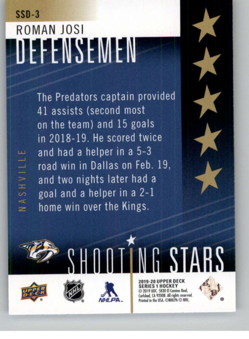 2019-20-Upper-Deck-Series-One-Shooting-Stars-Base-or-Red-NHL-Hockey-Cards-PFL miniature 23