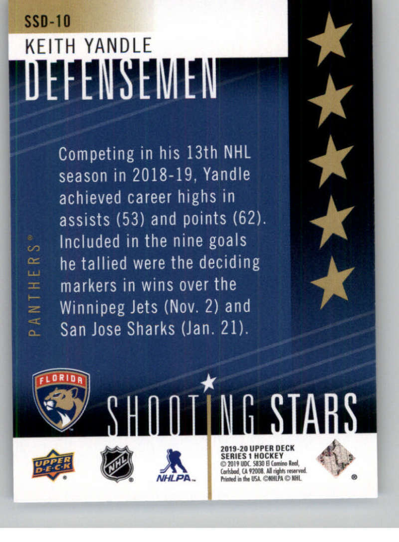 2019-20-Upper-Deck-Series-One-Shooting-Stars-Base-or-Red-NHL-Hockey-Cards-PFL miniature 27