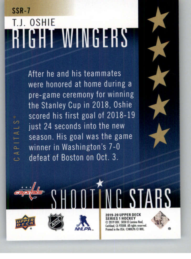 2019-20-Upper-Deck-Series-One-Shooting-Stars-Base-or-Red-NHL-Hockey-Cards-PFL miniature 49