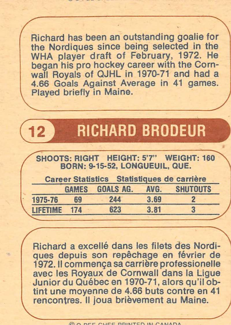1976-77-O-Pee-Chee-OPC-WHA-Hockey-Trading-Cards-Pick-From-List-Set-Break-One miniature 21