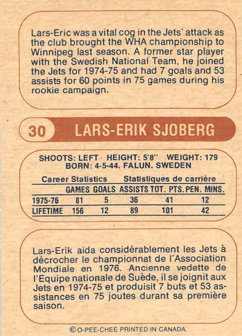 1976-77-O-Pee-Chee-OPC-WHA-Hockey-Trading-Cards-Pick-From-List-Set-Break-One miniature 43
