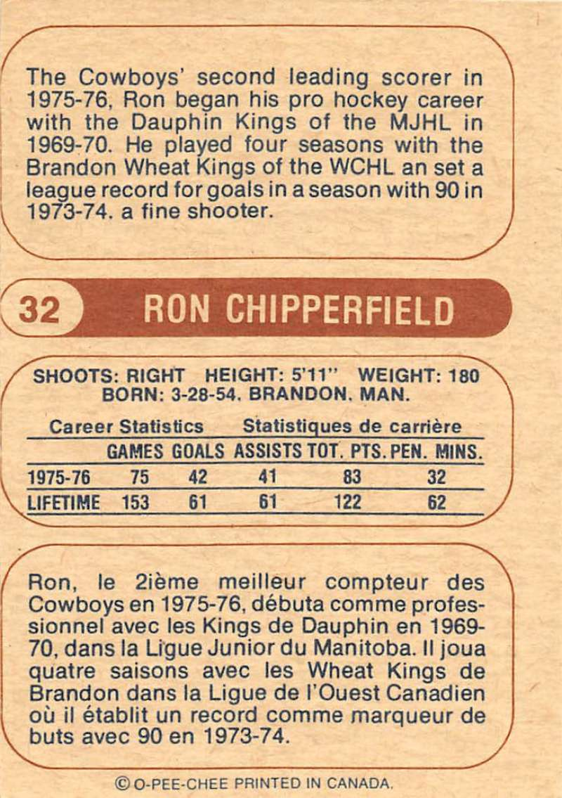 1976-77-O-Pee-Chee-OPC-WHA-Hockey-Trading-Cards-Pick-From-List-Set-Break-One miniature 45
