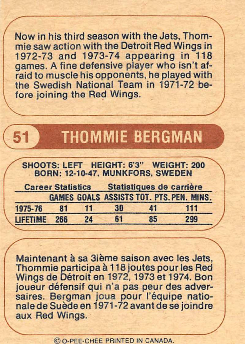 1976-77-O-Pee-Chee-OPC-WHA-Hockey-Trading-Cards-Pick-From-List-Set-Break-One miniature 65