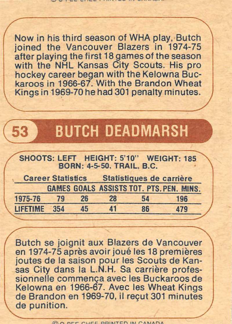 1976-77-O-Pee-Chee-OPC-WHA-Hockey-Trading-Cards-Pick-From-List-Set-Break-One miniature 67
