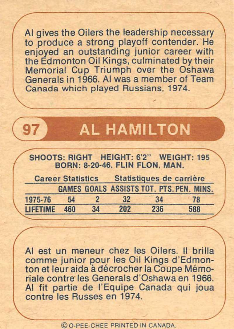 1976-77-O-Pee-Chee-OPC-WHA-Hockey-Trading-Cards-Pick-From-List-Set-Break-One miniature 97