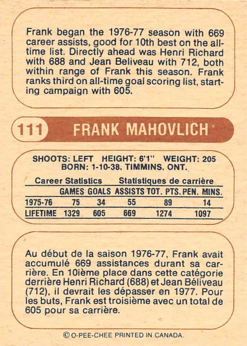 1976-77-O-Pee-Chee-OPC-WHA-Hockey-Trading-Cards-Pick-From-List-Set-Break-One miniature 117
