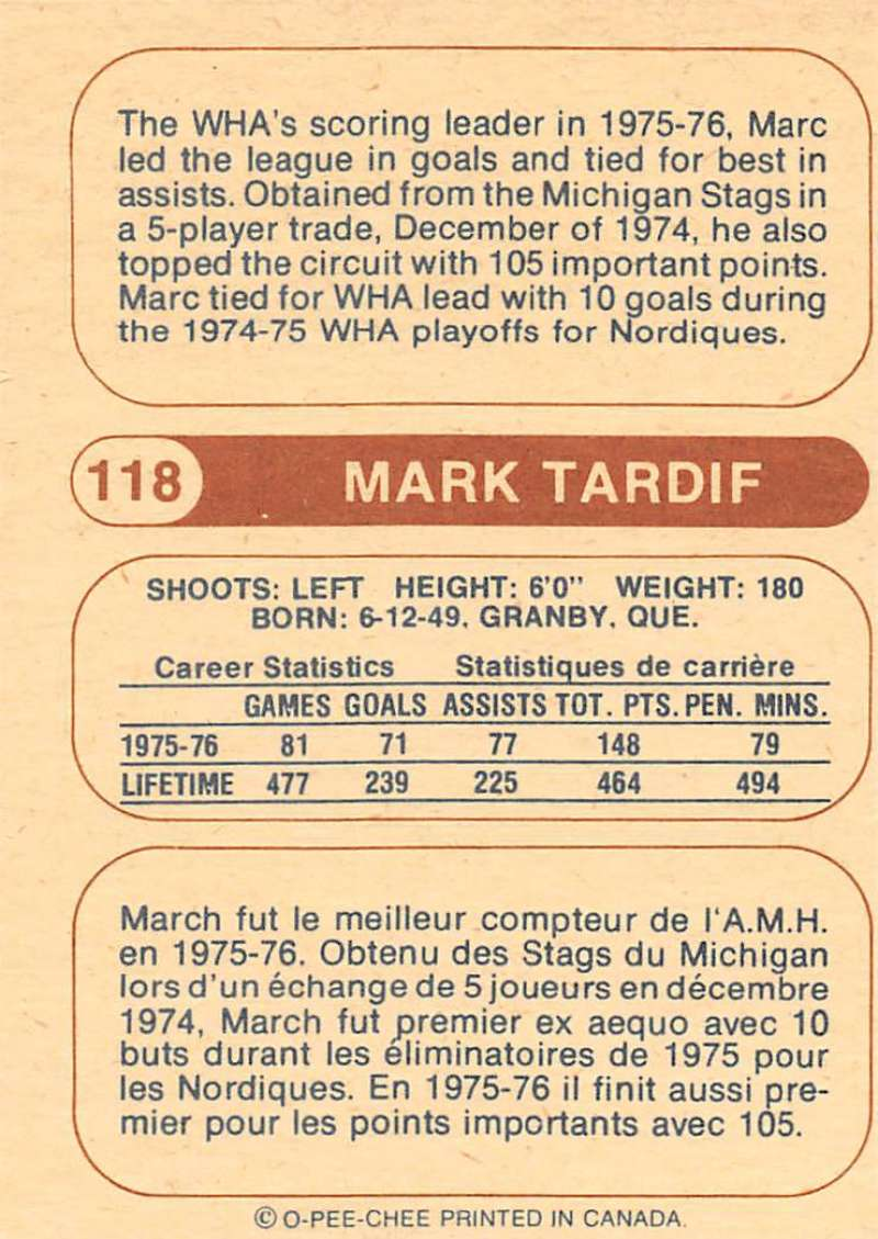 1976-77-O-Pee-Chee-OPC-WHA-Hockey-Trading-Cards-Pick-From-List-Set-Break-One miniature 123