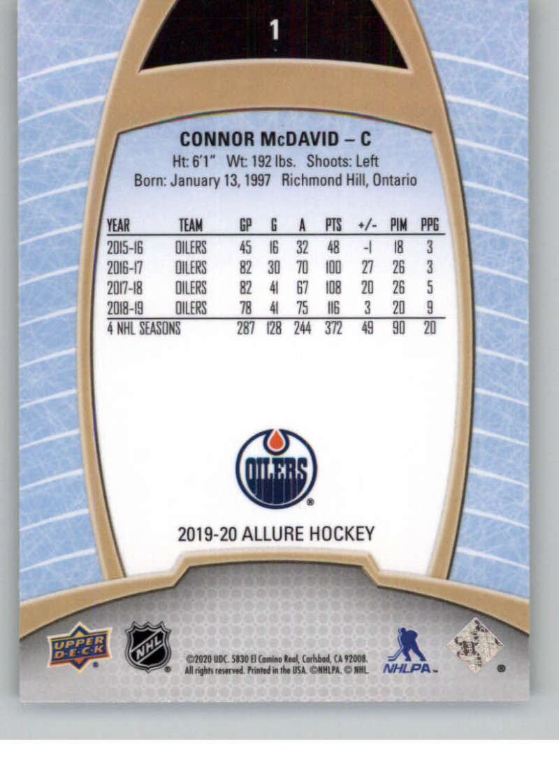 miniature 3 - 2019-20-Upper-Deck-Allure-19-20-UD-NHL-Hockey-Trading-Cards-Pick-From-List