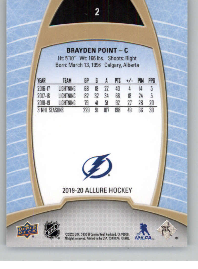 miniature 5 - 2019-20-Upper-Deck-Allure-19-20-UD-NHL-Hockey-Trading-Cards-Pick-From-List