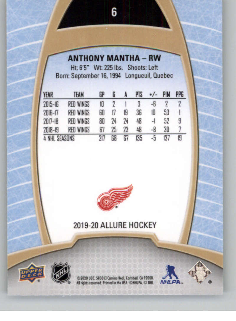 miniature 13 - 2019-20-Upper-Deck-Allure-19-20-UD-NHL-Hockey-Trading-Cards-Pick-From-List