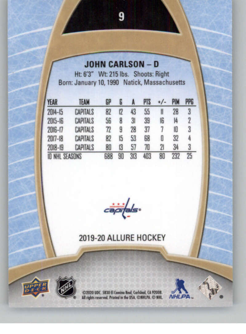 miniature 19 - 2019-20-Upper-Deck-Allure-19-20-UD-NHL-Hockey-Trading-Cards-Pick-From-List