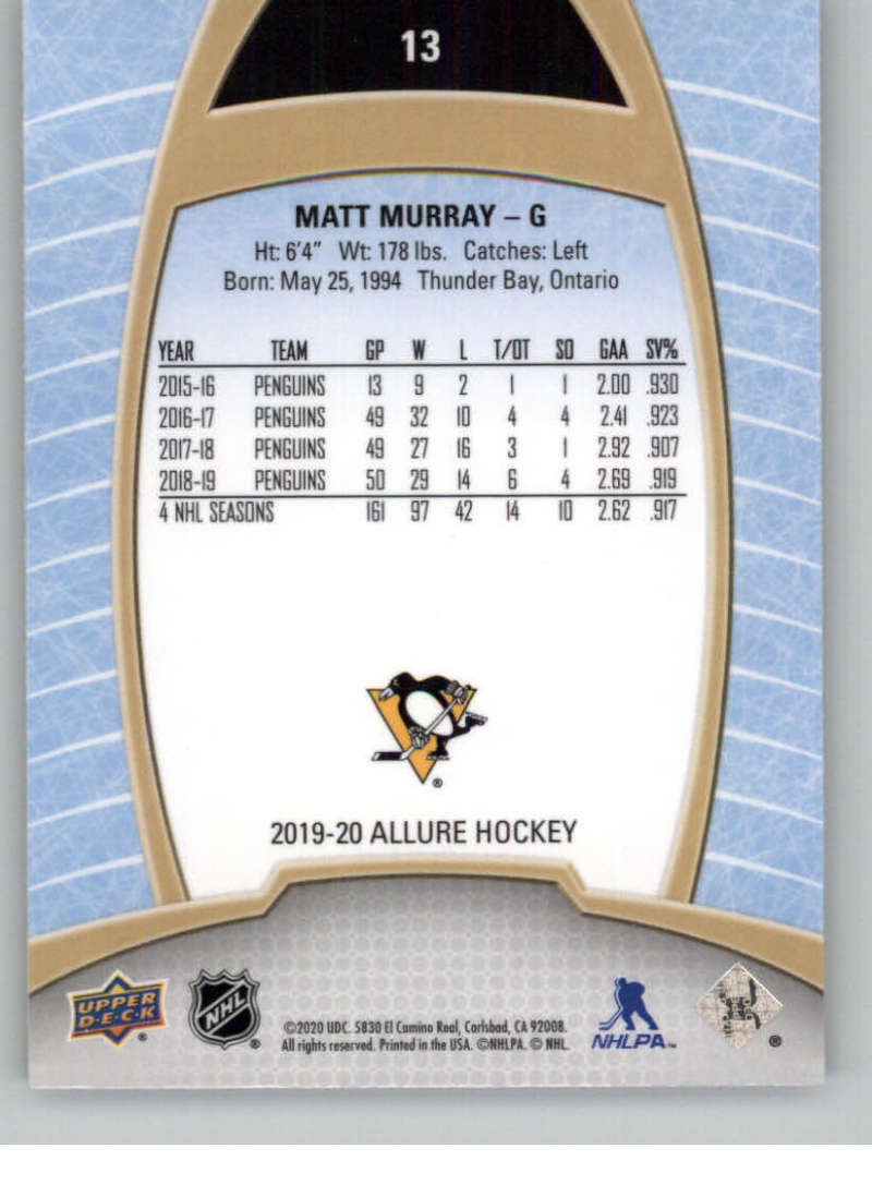 miniature 27 - 2019-20-Upper-Deck-Allure-19-20-UD-NHL-Hockey-Trading-Cards-Pick-From-List