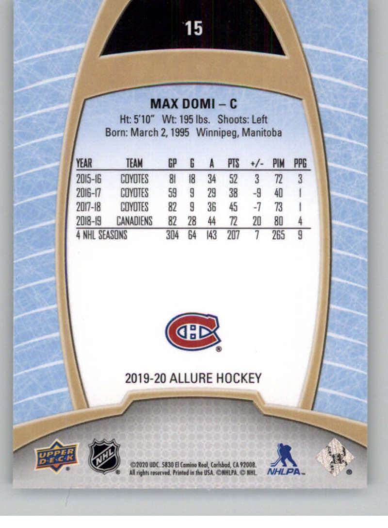 miniature 31 - 2019-20-Upper-Deck-Allure-19-20-UD-NHL-Hockey-Trading-Cards-Pick-From-List