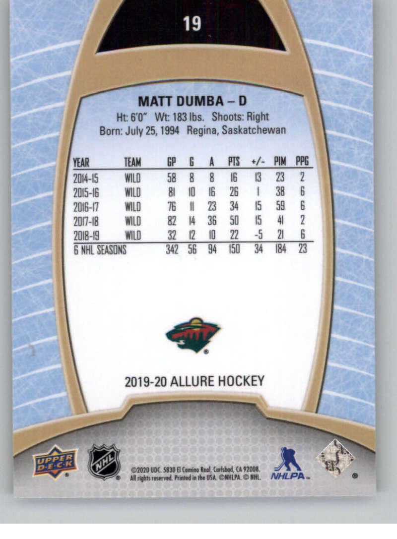 miniature 39 - 2019-20-Upper-Deck-Allure-19-20-UD-NHL-Hockey-Trading-Cards-Pick-From-List
