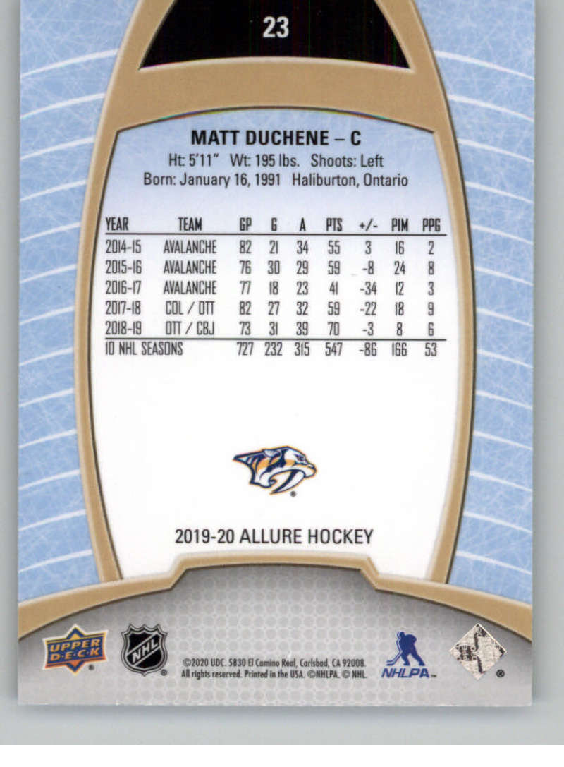 miniature 47 - 2019-20-Upper-Deck-Allure-19-20-UD-NHL-Hockey-Trading-Cards-Pick-From-List