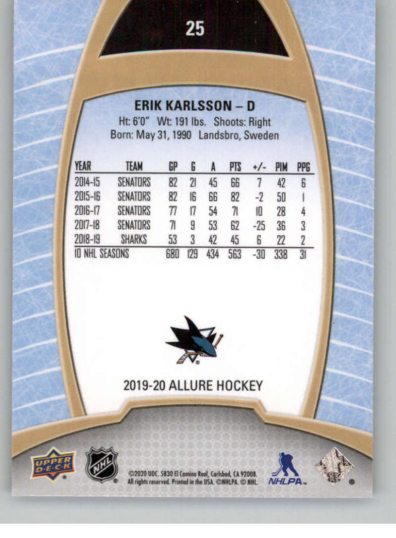 miniature 51 - 2019-20-Upper-Deck-Allure-19-20-UD-NHL-Hockey-Trading-Cards-Pick-From-List