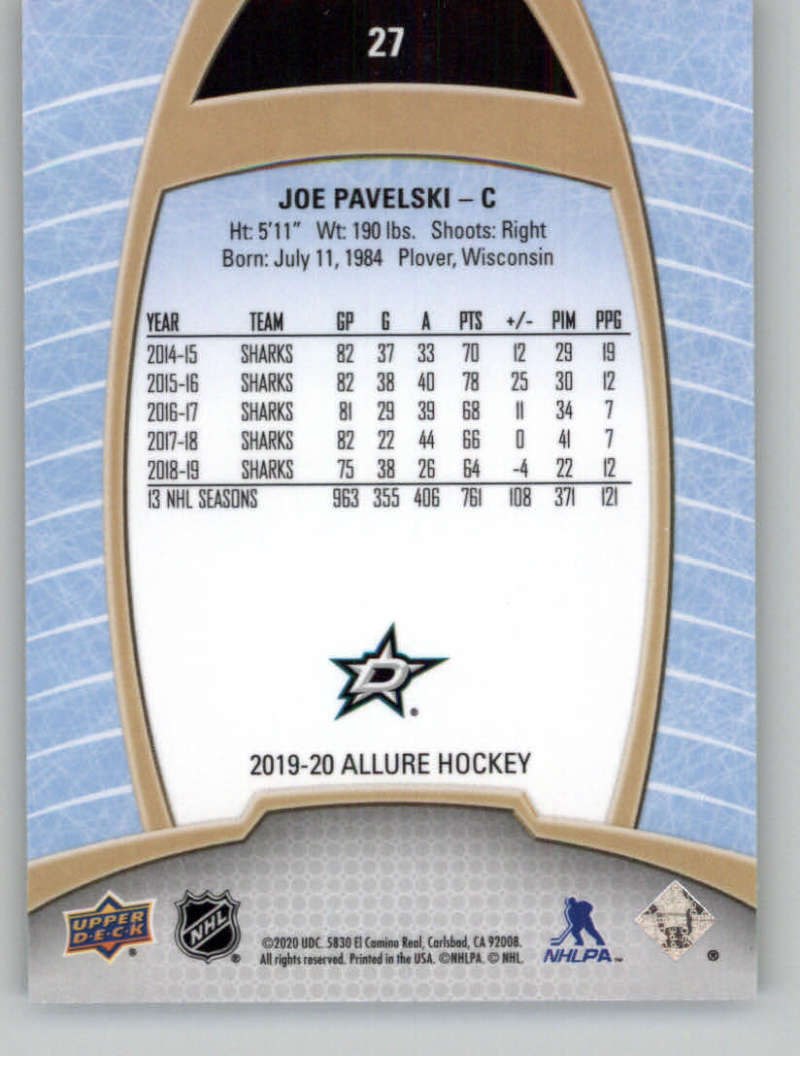 miniature 55 - 2019-20-Upper-Deck-Allure-19-20-UD-NHL-Hockey-Trading-Cards-Pick-From-List