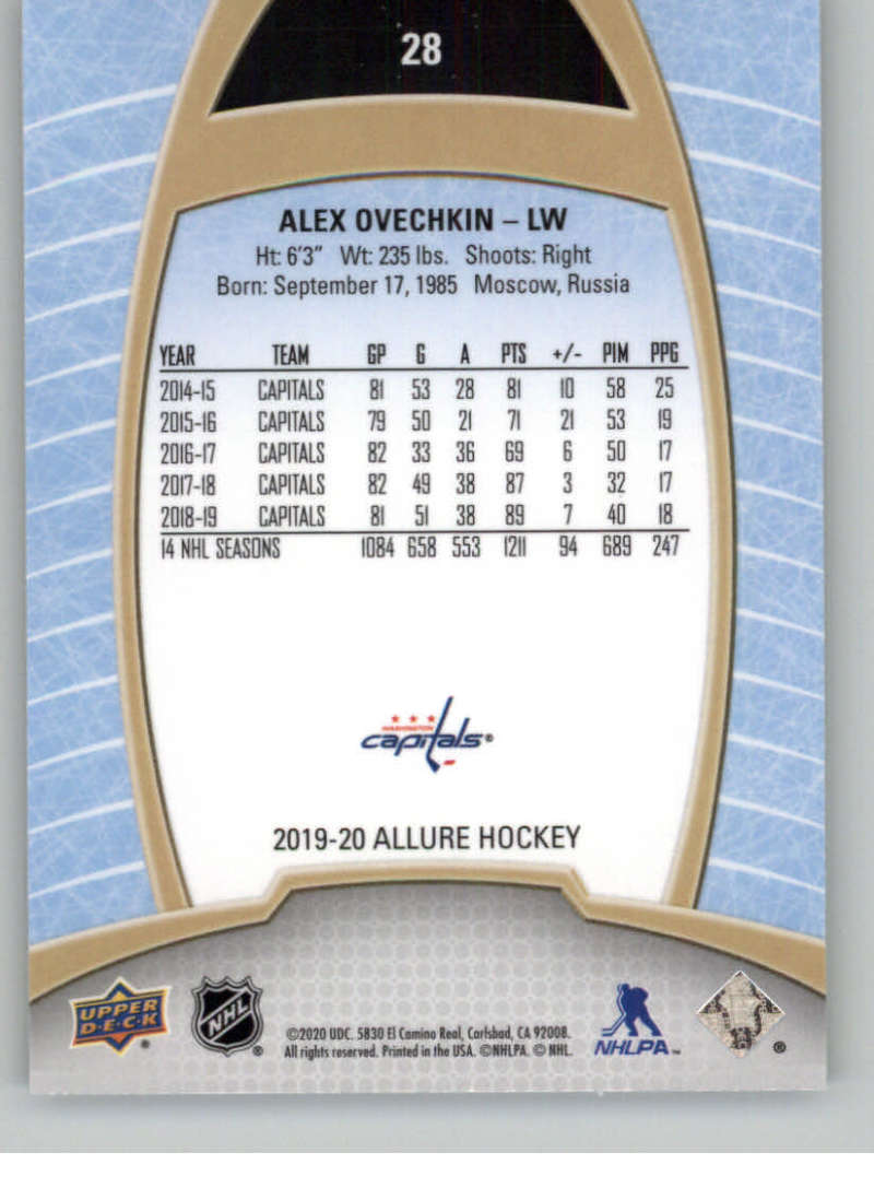 miniature 57 - 2019-20-Upper-Deck-Allure-19-20-UD-NHL-Hockey-Trading-Cards-Pick-From-List