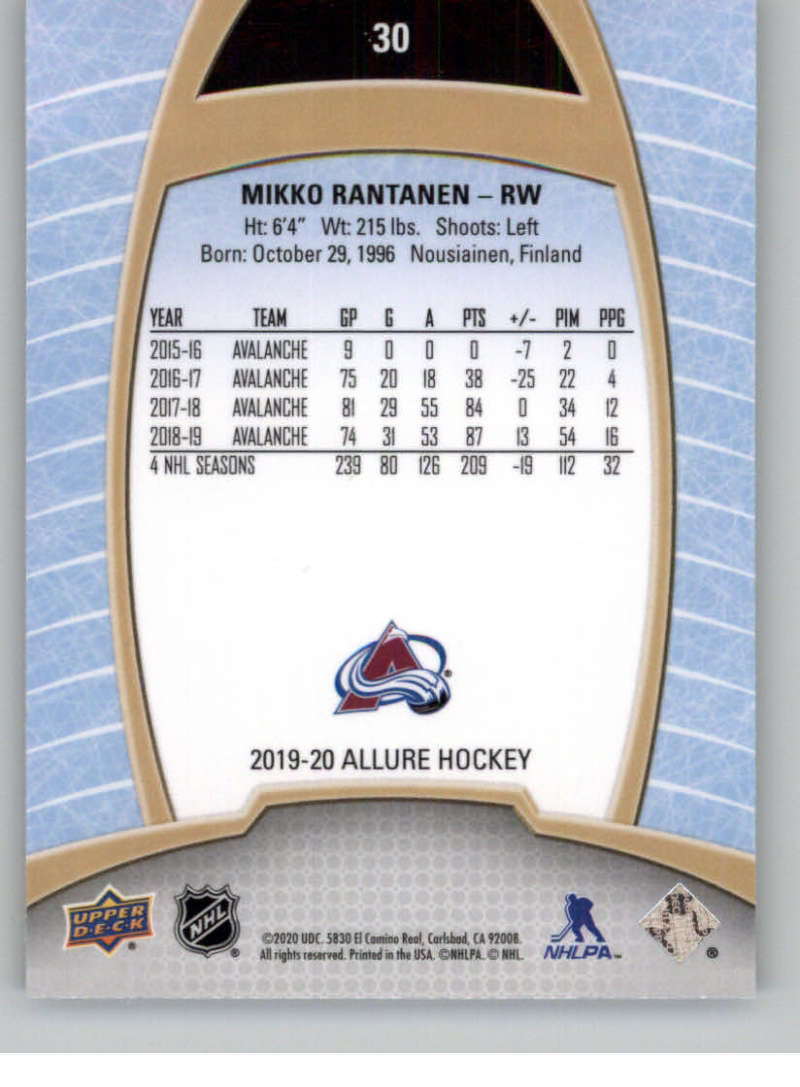 miniature 61 - 2019-20-Upper-Deck-Allure-19-20-UD-NHL-Hockey-Trading-Cards-Pick-From-List